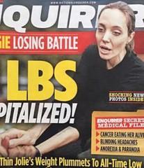 Нервная анорексия Джоли